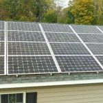 5.5 KW Roof Mount Solar Panel System on Medely Neck Road
