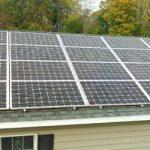 5.5 KW Roof Mount Solar Panel System on Medely Neck Road