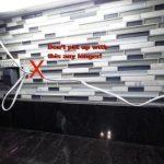 how not to install under cabinet lighting in Calvert County