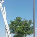 Electric Equipment Bucket Truck in Southern Maryland